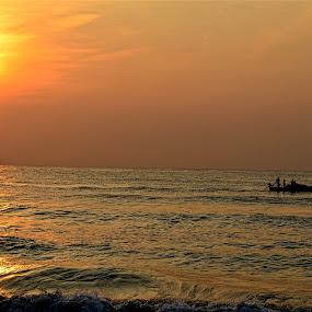 fishermen by Sankar GM - Landscapes Sunsets & Sunrises ( fish, fisherman,  )