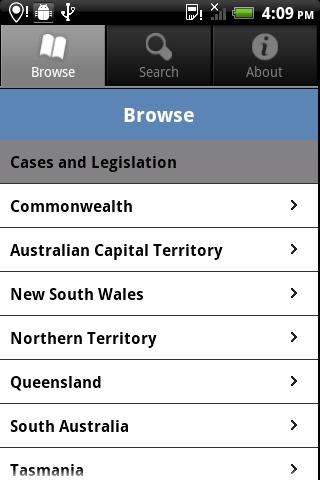 AustLII- screenshot