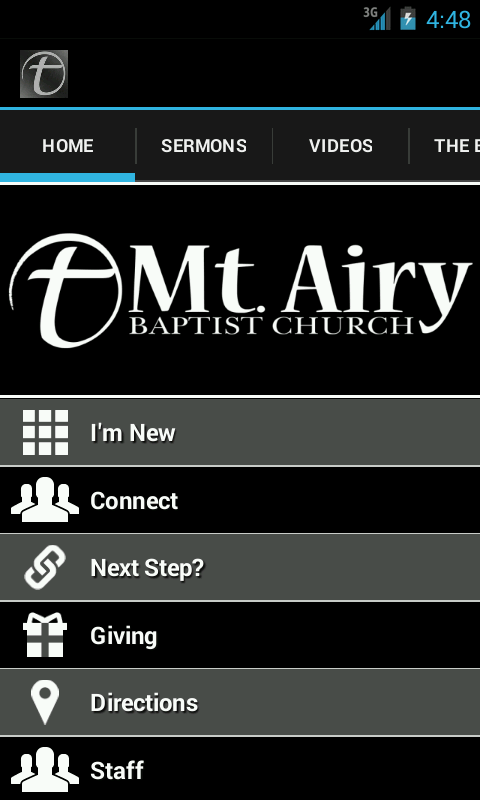 Mt Airy Baptist Church- screenshot