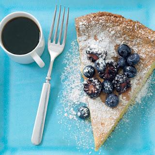 Lemon-Nut Torte with Summer Berries