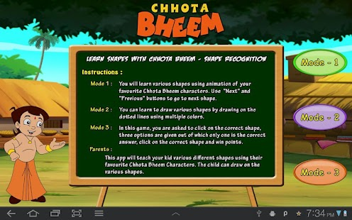 Learn Shapes With Bheem - screenshot thumbnail
