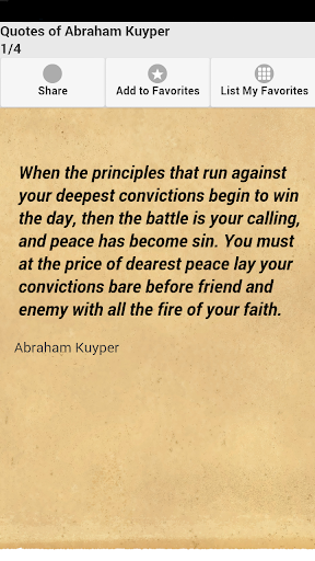 Quotes of Abraham Kuyper