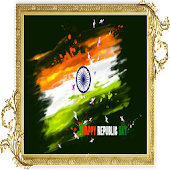 3D Happy Republic Day LWP