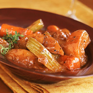 Winter-Vegetable Stew with Sunchokes.
