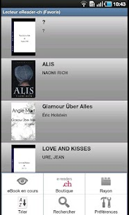 Ebook Readers e-readers.ch - screenshot thumbnail