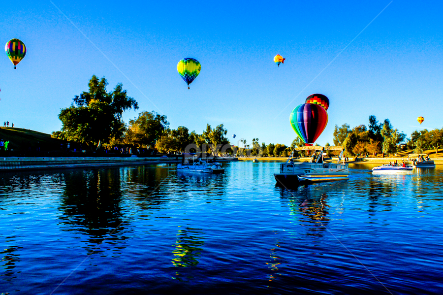 Balloon Refections by Tina Hailey - News & Events Entertainment ( tina's capture moments, lake havasu az balloon festival,  )