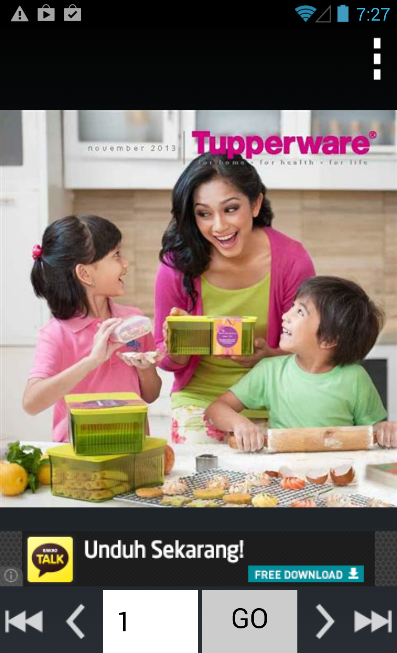 Katalog Tupperware Indonesia - screenshot