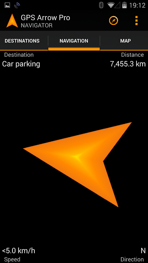 GPS Arrow Navigator PRO - screenshot