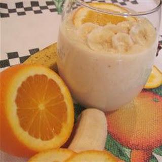 Banana-Orange Smoothie.