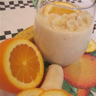 Banana-Orange Smoothie.
