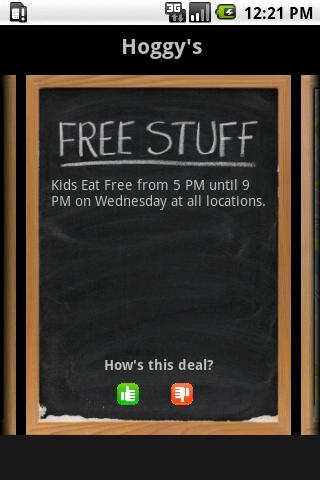 Kids Eat For - screenshot