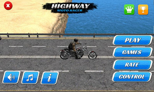 公路摩托賽車3D