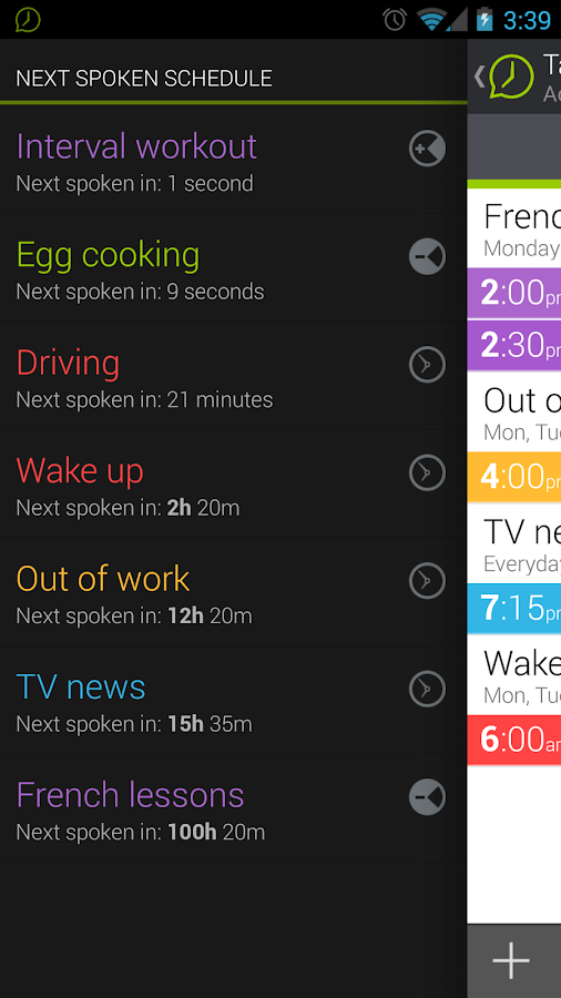 Talking Clock & Timer Demo- screenshot