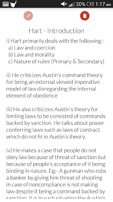 Basics of Jurisprudence - screenshot
