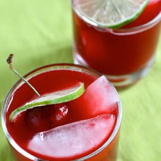 Fresh Cherry Margaritas.