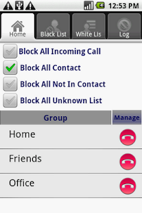 Call Blocker X Block Calls SMS - screenshot thumbnail