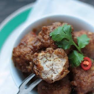 Pork Vindaloo Meatball Recipe – Low Carb and Gluten Free.