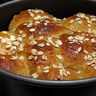 Glazed Maple Cornmeal Buttermilk Rolls