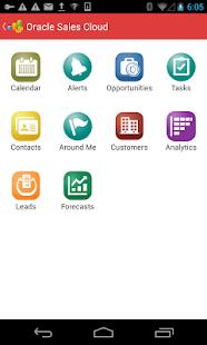 Oracle Sales Cloud Mobile - screenshot thumbnail