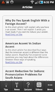 American Accent Tips- screenshot thumbnail