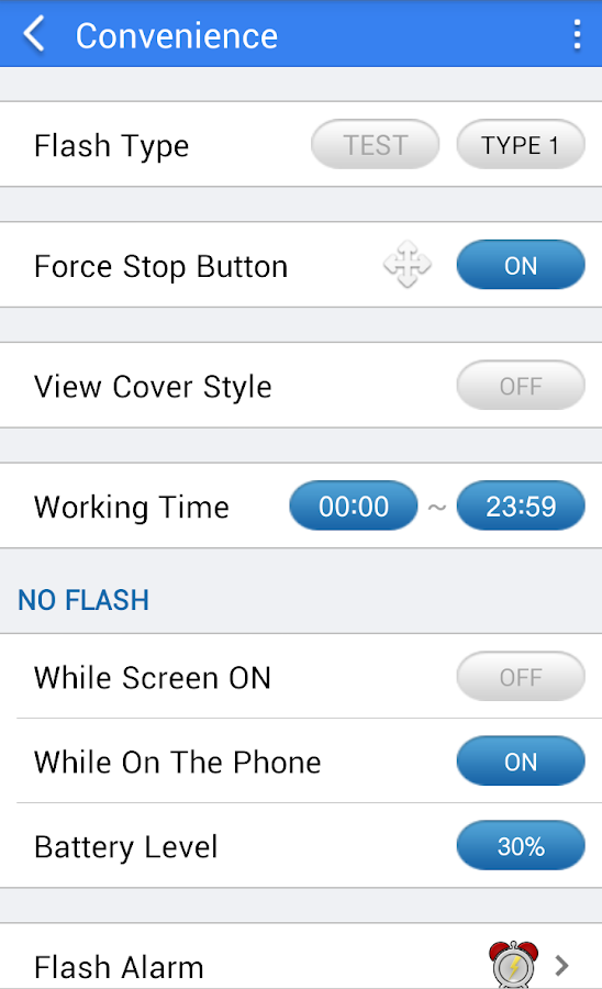 Flash Notification 2- screenshot