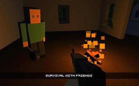 Cube Gun 3D : Zombie Island 1.0 screenshot 44146