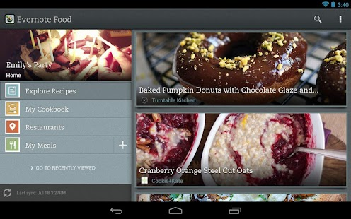 Evernote Food- screenshot thumbnail
