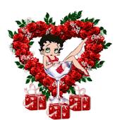 Betty Boop Heart LWP