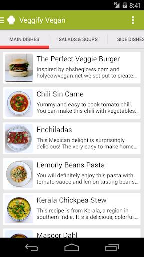 Vegify: Vegan Recipes