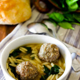 Rustic Italian Wedding Soup.