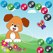 Paw Puppy Bubble Shooter