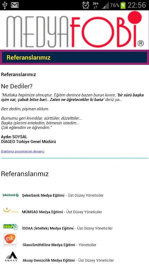 MedyaFobi- screenshot