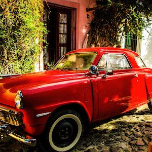 Red Studebaker in Colonia, Uruguay.jpg