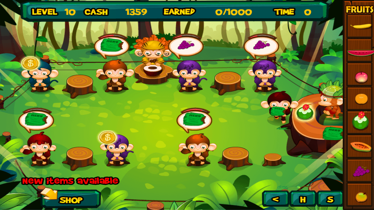 Jungle Cafe - screenshot