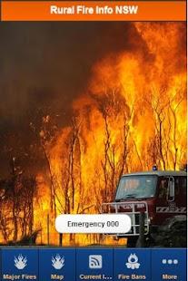 Bushfires -Rural Fire Info NSW