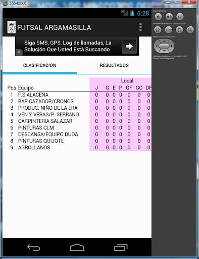 Futsal Argamasilla