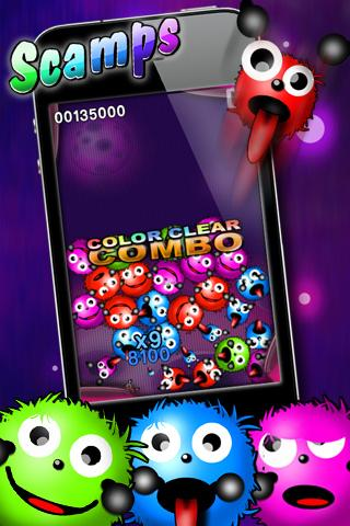 SCAMPS - free puzzle game- screenshot