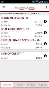 SAMCU Mobile Banking- screenshot thumbnail