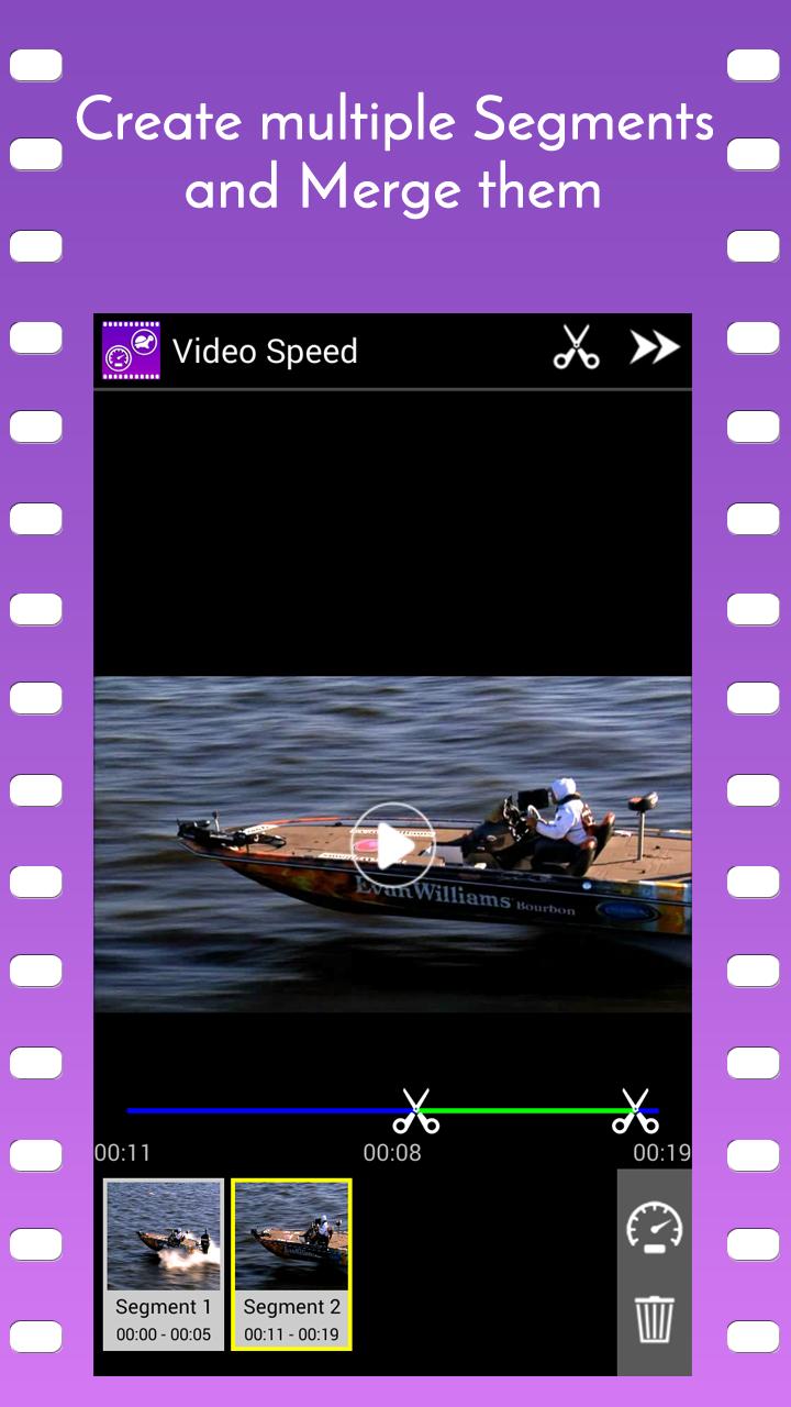 Video Speed Slow Motion & Fast Screenshot 1