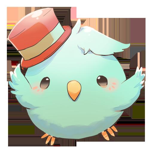 Tweecha ThemeP:Nijiiro Pi-chan