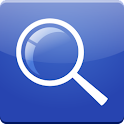Blue Search for Google logo