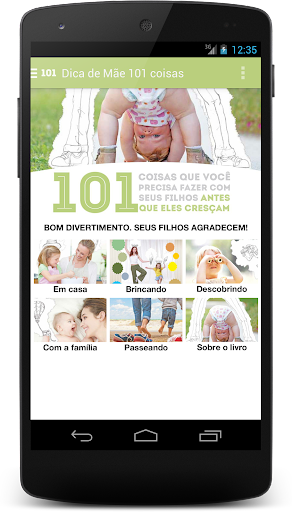101 Coisas - Filhos