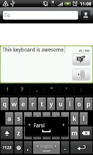 Farsi Nevis Keyboard - screenshot thumbnail