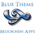 Blue Theme icon