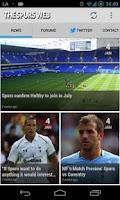 Screenshot of Spurs Web