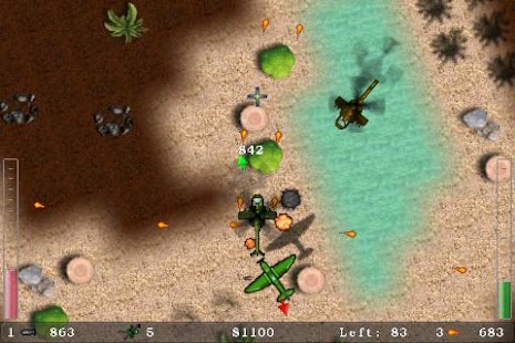 Blue Skies Helicopter Shooter- screenshot thumbnail