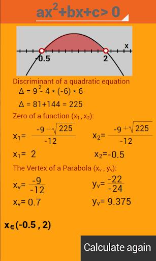 Delta - Quadratic equations