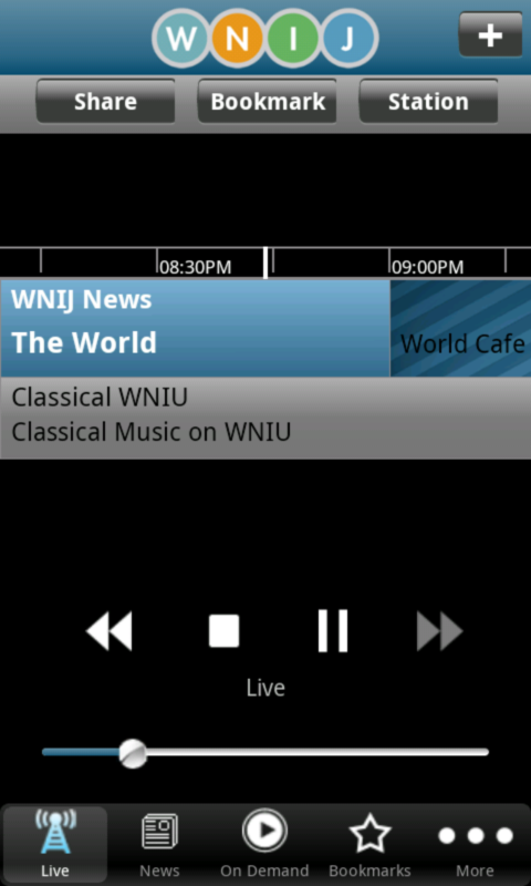 WNIJ Public Radio App - screenshot
