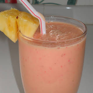 Frothy Fruit Smoothies.