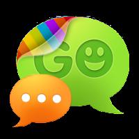 GO SMS Pro simple dark theme 1.0
